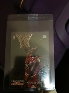 Michael Jordan FACE TO FACE nba card
