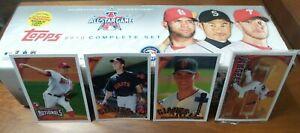 2010 Topps MLB Baseball Complete Factory Sealed Set Series 1 & 2 661 + 5 bonus