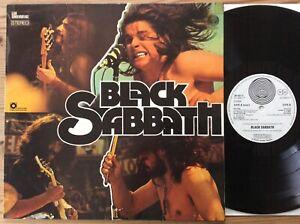 LP Black Sabbath SAME Vertigo – 28 621-1 s/t Vinyl Club Swirl