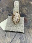 Barse Elevate Ring- Agatized Opal- Bronze-10.5-NWT
