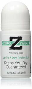 ZeroSweat Antiperspirant Deodorant   Clinical Strength Hyperhidrosis Treatment