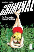 Criminal #8 IMAGE COMICS 1st Print 2019 BRUBAKER PHILLIPS