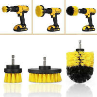 1/3Pcs Tile Grout Power Scrubber Cleaning Drill Brush Combo Scrub Tub Cleaner