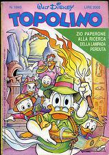 TOPOLINO N° 1843 - 24 MARZO 1991  - CONDIZIONI OTTIME