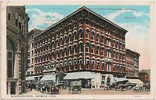 The Wauregan Hotel in Norwich CT Postcard 1933