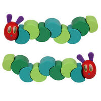 Baby Children Colorful Wooden Hungry Twist Caterpillar Gift Educational Toy