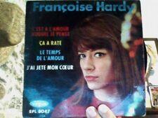 EP - Françoise HARDY – C'est à l'amour auquel je pense + 3T - EPL 8047 4 TITRES