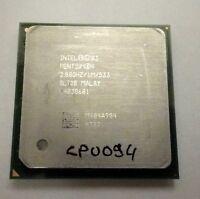 CPU / PROCESSEUR - INTEL - PENTIUM 4 - SL7D8 - 2.8 GHZ - SOCKET 478 - TESTE OK