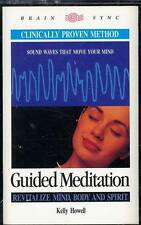 AUDIO TAPE KELLY HOWELL GUIDED MEDITATION BRAIN SYNC BODY MIND SPIRIT