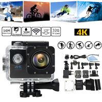SJ9000 Ultra Waterproof WIFI 4K 12MP Sports Action DV HD 1080P Camera Camcorder
