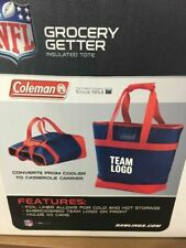 2x Buffalo Bills Official NFL 40 Can Insulated Cooler Tote Logo by Coleman