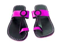 pink handmade leather slippers womens sandals handmade leather slippers flipflop