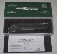 Bowser Executive Line HO scale ALco C628 Southern Pacific, Cab #3114 (NIB)