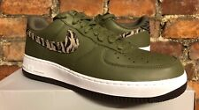 NIKE AIR FORCE 1 AOP PREMIUM UK10.5 US11.5 EU45.5 OLIVE TIGER CAMO AQ4131 200