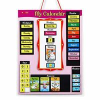 Magnetic Wall Calendar for Kids