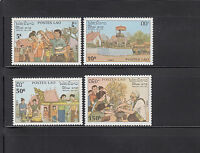 Laos 1990 Republic Anniversary Sc 994-997   complete  mint never hinged