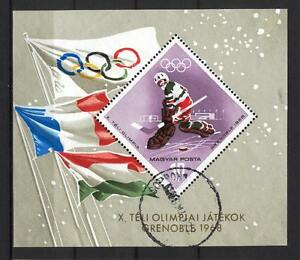 Hungary A33 used 1968 Block Sport Olympic Games Hockey