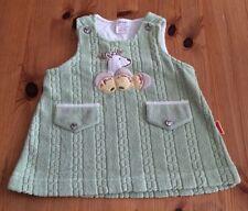 Babys Vert Polaire robe-tablier taille 3-6 mois
