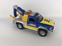 Tonka Tow Truck Rescue Force Lights Sounds Works Blue Road Service Vehicle Toy