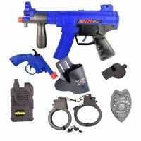 Kids First Elite Force Military Play Toy Gun Set of 8 Pieces w/ Rifle & Pistols
