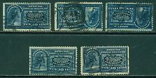 SCOTT # E-5 USED, FINE, STRAIGHT-EDGE, 5 STAMPS, GREAT PRICE!