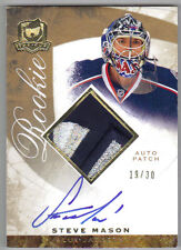 08-09 The Cup Gold Rainbow Steve Mason Auto Patch Rookie Card RC #89 19/30 Rare