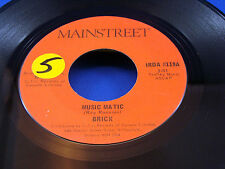 BRICK - Music Matic / Good High - 1975 CANADA PRESSING 45 - FUNK
