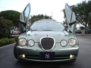 """Jaguar S-Type 00-08 Bolt-on Vertical Lambo Doors by """"BoltonLamboDoors"""""""