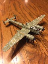 WWll GERMAN War Plane Scale Model Precision Build !