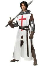 Adult Men's Crusader Medieval Knight Costume SIZE S (Used)