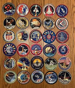 155 NASA Space Mission Patches