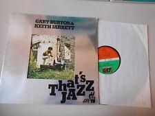 LP JAZZ Gary Burton/Keith Jarrett-that 's Jazz (5 chanson) ATLANTIC
