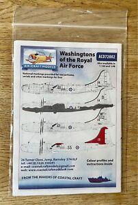 1/72 Decals Air-craft Models Boeing B-29 RAF Washington (Superfortress).