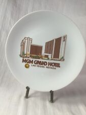 """MGM GRAND HOTEL COLLECTORS PLATE By Papel - Las Vegas NV Collectible 8 1/4"""" Rare"""