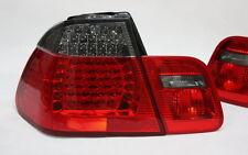 LED Luci Posteriori Set fari posteriori BMW e46 3er m3 BERLINA -01 rosso nero smoke