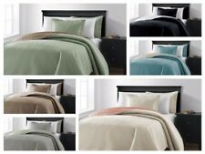 Chezmoi Collection Mesa 3-piece Oversized Reversible Coverlet Bedspread 6 Colors