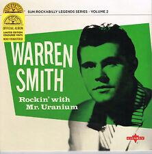 """WARREN SMITH - ROCKIN WITH MR URANIUM (10 trax  10"""" VINYL LP  50s SUN ROCKABILLY"""