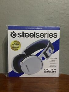 SteelSeries Arctis 7P Wireless Lossless 2.4 GHz White Headset Playstation 5 PS5