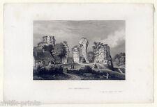 Externsteine-Horn-Bad Meinberg - Stahlstich Brain-Schlickum 1842