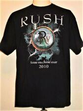 New listing Rock band RUSH 2010 Time Machine Tour T-shirt