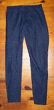Women's Juniors NO BOUNDARIES Dark Blue Cotton Denim Leggings Pants Small 3 / 5