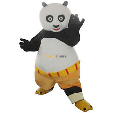 Kung Fu Panda Mascot Costume Halloween Fancy Dress Cosplay Animal Party Adults +