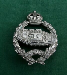 """WW2"" The Tank Corps/Regiment ~ 100% GENUINE British Army Military Cap Badge."