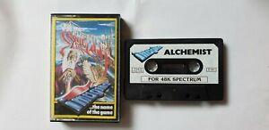 ALCHEMIST - IMAGINE 1983 - SINCLAIR SPECTRUM 48K GAME - VINTAGE