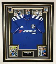 John Terry and Frank  Lampard Signed Shirt Autograph Jersey Framed Display