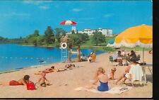 LINCOLN,MICHIGAN-LOST LAKE WOODS CLUB-BEACH&CLUB HOUSE-LIFEGUARD(MICH-LMISC)