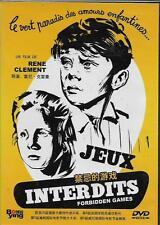 Jeux Interdits AKA Forbidden Games DVD French NEW Eng Sub 1952 Oscar R0
