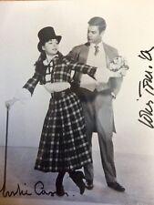 Leslie Caron Louis Jourdan GIGI SIGNED 8X10 PHOTO  AUTHENTIC 100%
