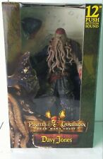 "NECA PIRATES OF THE CARIBBEAN DEAD MAN'S CHEST DAVY JONES 12"" ACTION FIGURE"