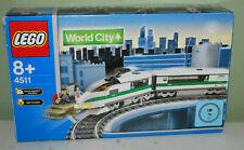Lego World City Eisenbahn 4511 Schnellzug/ Highspeed Train NEU + OVP